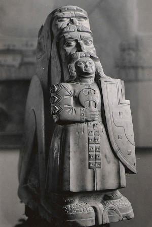 'Heritage', 1955, sculpture by Stanislav Szukalski